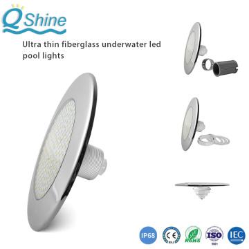 Luces de piscina LED de acero inoxidable con rosca de 1,5 pulgadas y 2 pulgadas