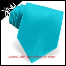 Seda de alta qualidade do laço do pescoço de turquesa
