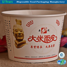 Customed Paper Bowl em impressão de destaque