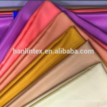 100% polyester light satin fabric for fashionable dress, evening dress, lady's suit, upholstery