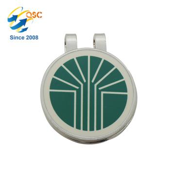 Grande qualité mignon magnétique personnalisé en métal Craft Golf Cap Clip