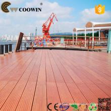 China Producción de fábrica wpc material de construcción compuesto suelo de terracota exterior