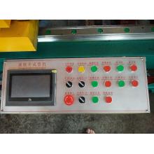 Máquina formadora de aletas onduladas para la fabricación de tanques de transformadores