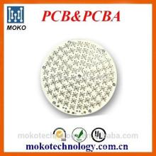 Tablero PCB de aluminio de la producción de la fábrica para los productos llevados