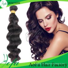 Großhandelsreine Haarverlängerung Sexy Style Human Welliges Haar