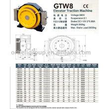 Máquina de Tracción de Ascensor (Gearless-GTW GTS Series)