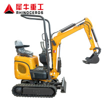 Rhinoceros XN08 XN10 mini excavator parts mini excavator price