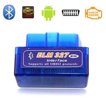 Mini super v 1.5 Elm327 Bluetooth OBD2 adaptador Auto Scanner Obdii Bluetooth Elm 327 apoiar todos Obdii