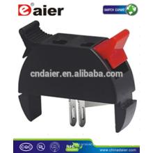 Daier WP2-18 2P Rot & Schwarz Clip Federklemme Lautsprecherklemme 2P