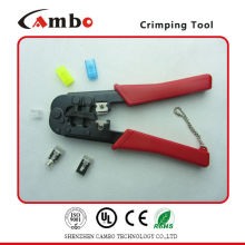 Made In China GOOD QUALITY RJ11 RJ12 RJ45 Cat 5 types of crimping tool