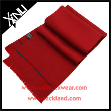 16MM Twill Silk Scarf Men in Red Solid Color Scarf Tie African