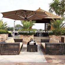 PE rattan beach outdoor furniture wicker sofa sets