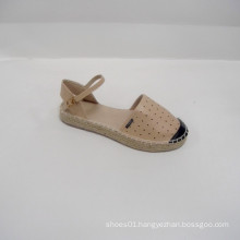 2014 factory direct selling cute female Banded flats shoes pu shoes recreational sports the laser PU Espadrille