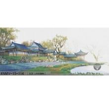 Art de la mosaïque de verre chinois