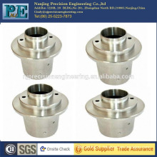 Galvanized steel forging and cnc pipe sleeve