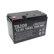 3000 Cycles Solar Wind RV Yachat 100Ah LiFePO4 Lithium Battery 12V 100Ah