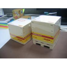 Notes collantes cube mémo coloré de haute qualité