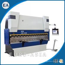 Prensa dobradeira servo sincronizada eletro-hidráulica CNC
