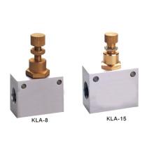 KLA Series One-Way Throttle Pneumatic Check Valve
