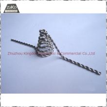 Filamento de tungsteno para metalización de vacío / materiales de evaporación / alambre trenzado de tungsteno