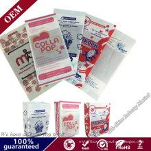 Packaging Bulk Paper Bags Reusable Microwave Popcorn Paper Bags Bakery Bag