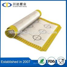 FDA многоразового Aniti скольжения Горячие Продаем Продовольственная класса прост в использовании силиконовый коврик для прохода для кухни