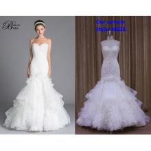 Vestido de noiva top vestido de festa branco cremoso