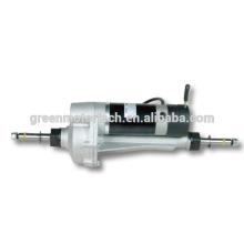 электрический самокат удобоподвижности двигатели, коробки передач задний дифференциал ось электродвигателя для электрической мобильности scooterdc электродвигателя с редуктором