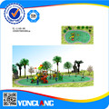 Комбинированный Тип Слайдера Пластик Playgtound Оборудования 2014