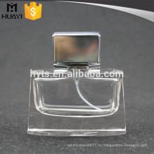 Botella de perfume miniatura 50ml con aluminio cao