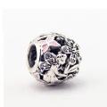 925 Sterling Silber Perlen mit CZ Schmuck