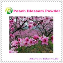 Polvo de alta calidad 100% natural de la flor del melocotón