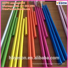 colorful wooden toy handle/wood mop handle/wood garden handle tools