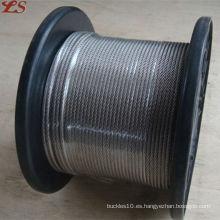 6x19 fc galvanizado 2mm cable de acero
