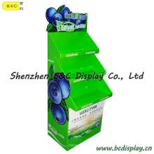 Стенд фруктов Дисплей картона, сельскохозяйственной и боковой линии продуктов дисплея (B и C-A080)