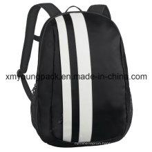 Fashion Black Tarpaulin Travel Laptop Backpack