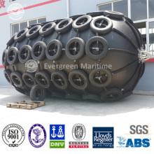 Defensa de goma neumática flotante garantizada del ISO 9001 para que el muelle envíe y envíe para enviar