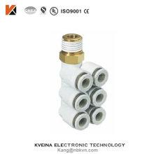 Cilindro neumático de Kvn de los racores