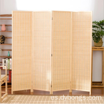 Eco friendly Bamboo screen cheap room divider