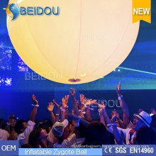 Lighted Touchable Advertising Crowded Balloons Inflatable Zygote Interactive Balls