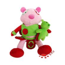 Plüsch Cartoon Baby Spielzeug Frosch