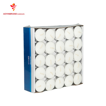 100pcs venda superior de vela branca mini tealight
