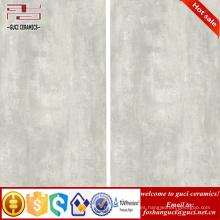 Materiales de construcción de China 1200x600mm Imitación de cemento fino piso de cerámica