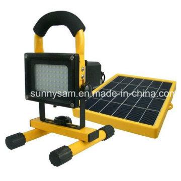 Lumière solaire d'alliage d'énergie de lampe de travail de panneau économiseur d'énergie