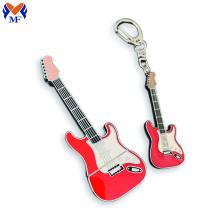 Сувенирный металлический гитарный брелок на заказ