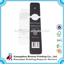 China Factory Best Price Matt Laminated Black Box Packaging of High Quality