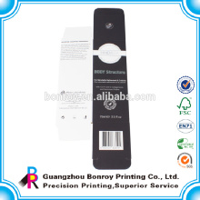 Китай завод лучшие цены Matt Прокатал черный Коробка упаковки высокого качества