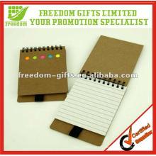 Meilleur prix recyclé bloc-notes avec un stylo