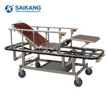 SKB037(C) Mobile Medical Patient Transport Trolley