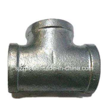 Равнополочный оцинкованный стальной трубчатый фитинг из железа